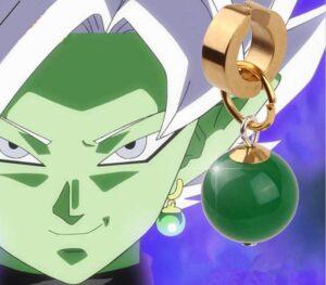 potara goku black fusion zamasu cosplay earrings