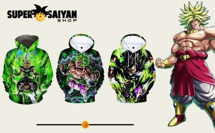 broly hoodies