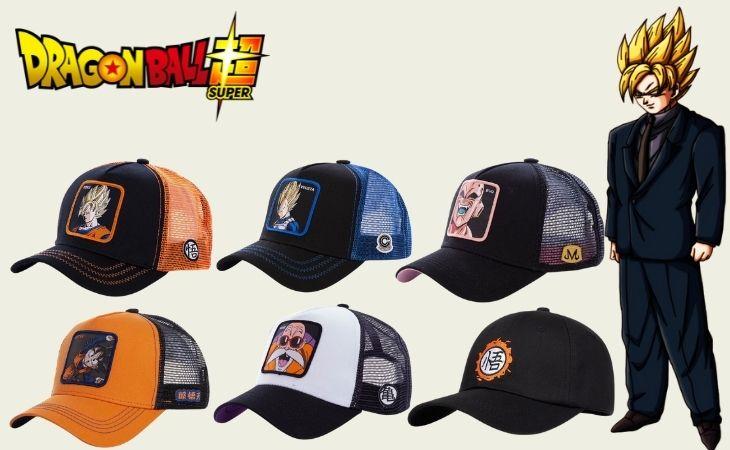 dragon ball z caps hats