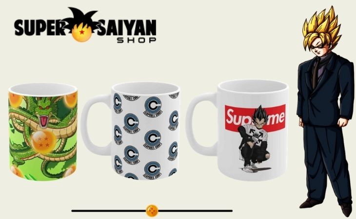 dragon ball z mugs cups