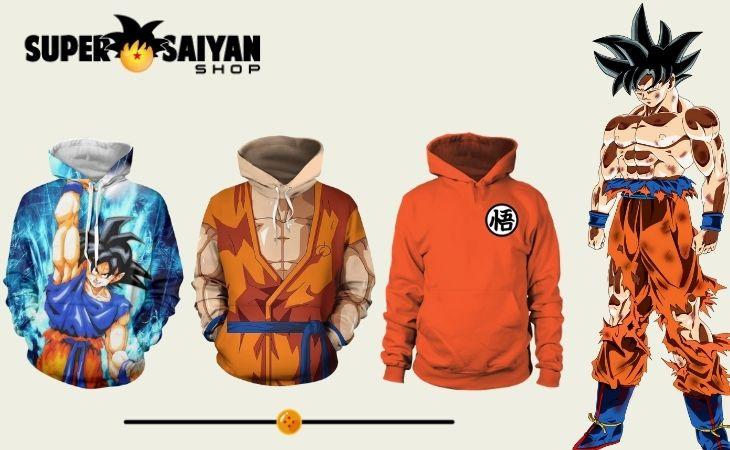 goku hoodies