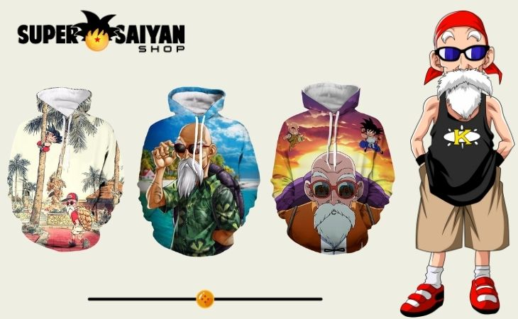 master roshi hoodies