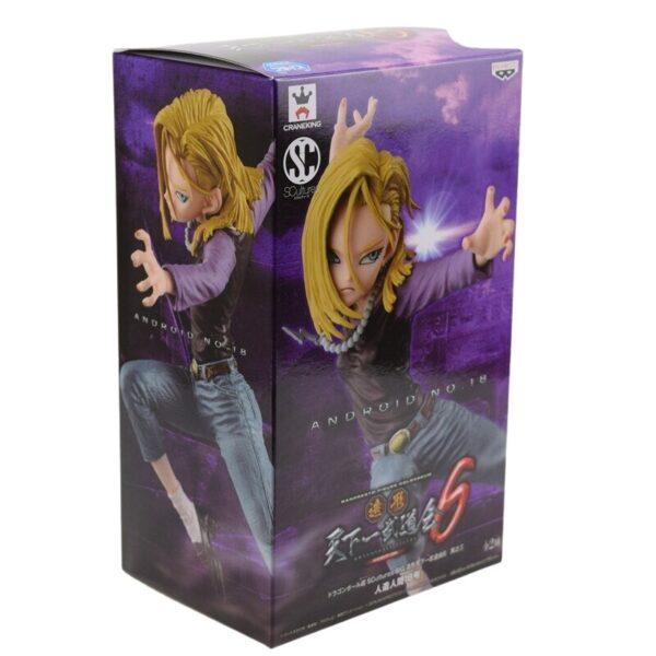 android 18 lazuli final flash figure v2 box