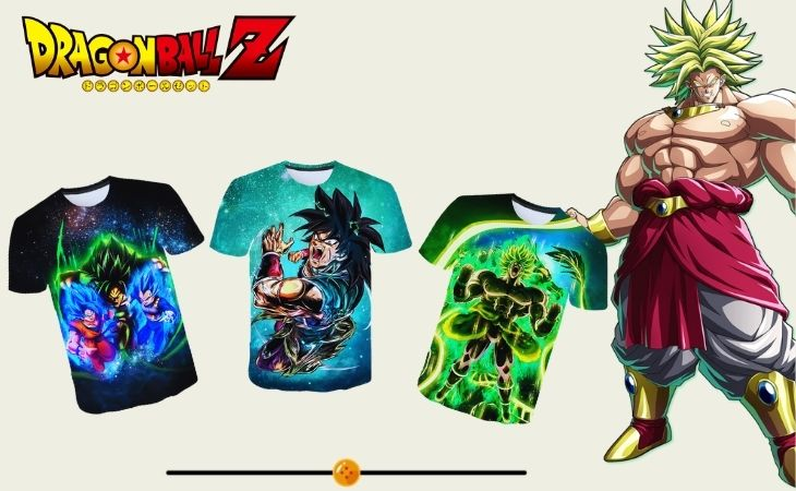 broly t shirts collection