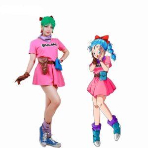 bulma cosplay costume dress