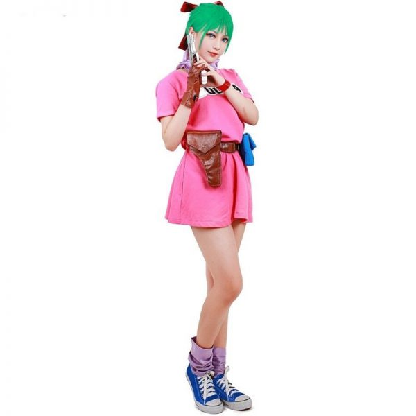 bulma cosplay costume dress 5