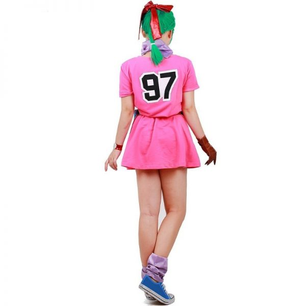 bulma cosplay costume dress back
