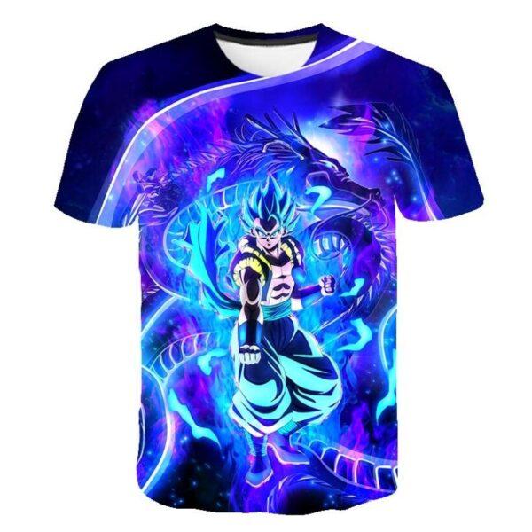 gogeta ultra instinct mode t shirt