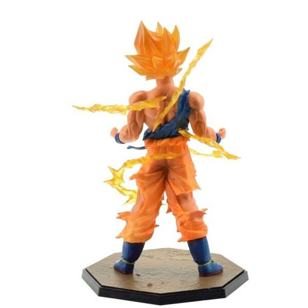 goku battle version action figure back
