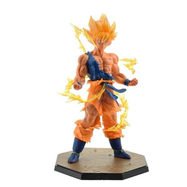 goku battle version action figure front