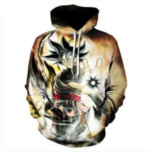 goku black saiyan ultra power hoodie