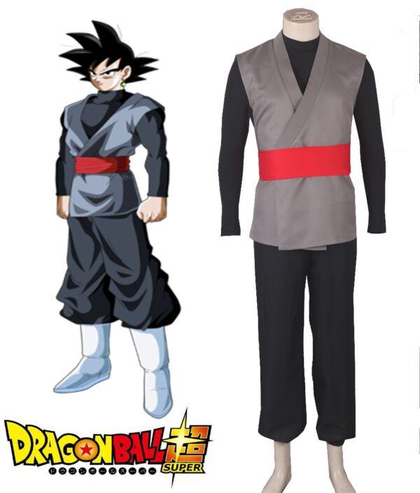 goku black zamasu fighting uniform cosplay costume