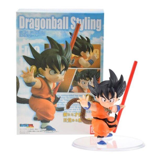 goku childhood training action figure box