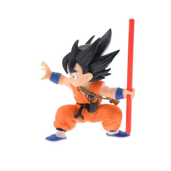goku childhood training action figure side