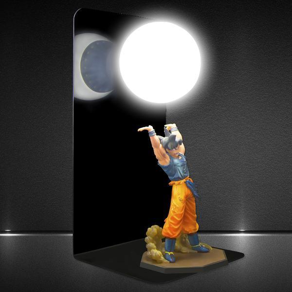 goku genkidama blackout diy 3d lamp side