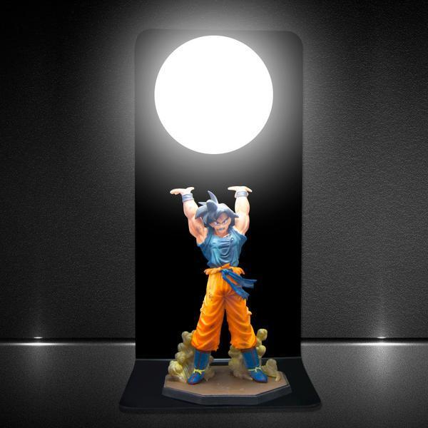 goku genkidama blackout diy 3d lamp