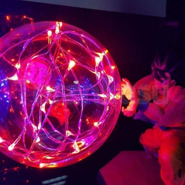 goku kamehameha burst versus vegeta diy 3d lamp 3
