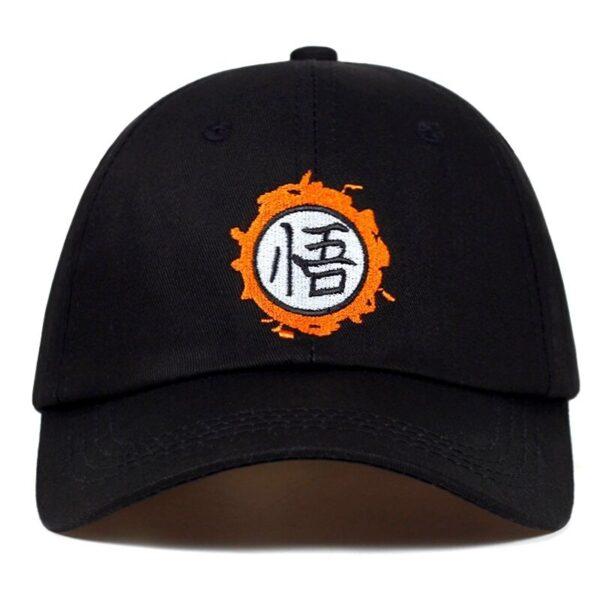 goku kanji symbol classic trucker cap front