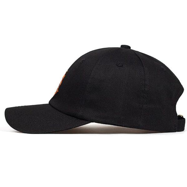goku kanji symbol classic trucker cap side