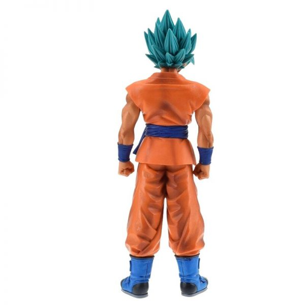 goku perfected saiyan blue resurrection f figure back