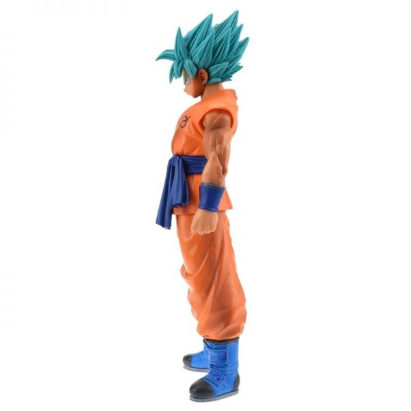 goku perfected saiyan blue resurrection f figure side