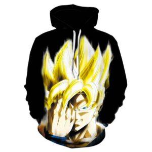 goku ssj 2 ki teleportation hoodie