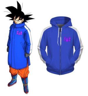 goku sab jacket blue
