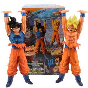 goku saiyan 2 genkidama action figure box