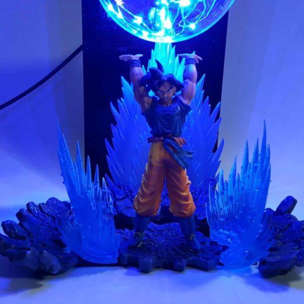 goku spirit bomb blue diy 3d lamp zoom