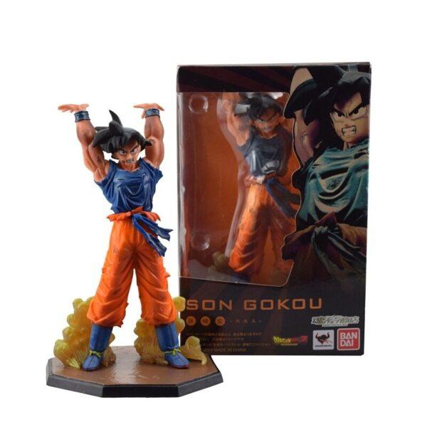 goku spirit bomb genkidama action figure box