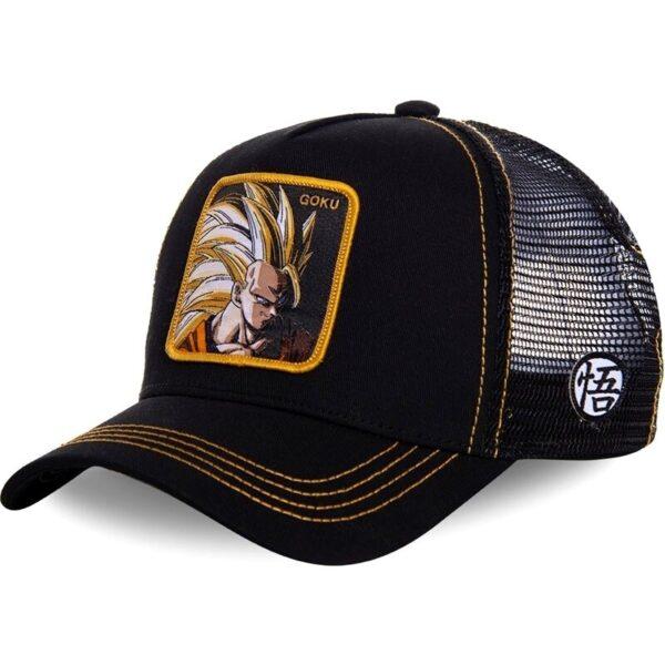 goku super saiyan 3 trucker hat cap