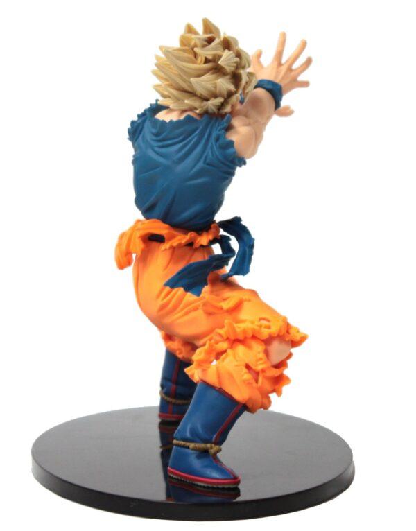 goku super saiyan ii fighting action figure back