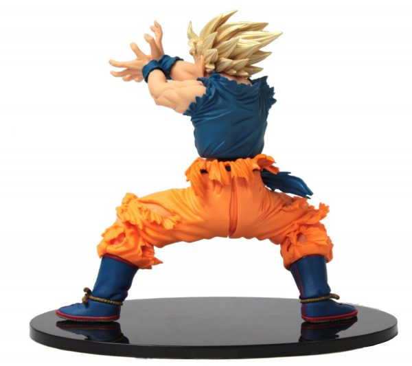 goku super saiyan ii fighting action figure side 2