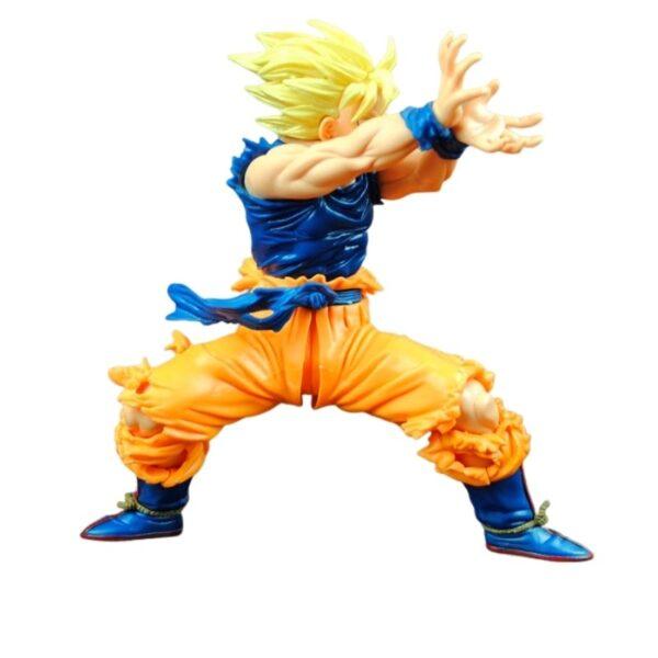 goku super saiyan ii fighting action figure side