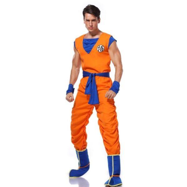 goku training uniform cosplay costume 2
