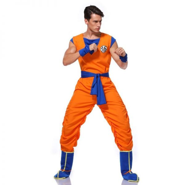 goku training uniform cosplay costume 3