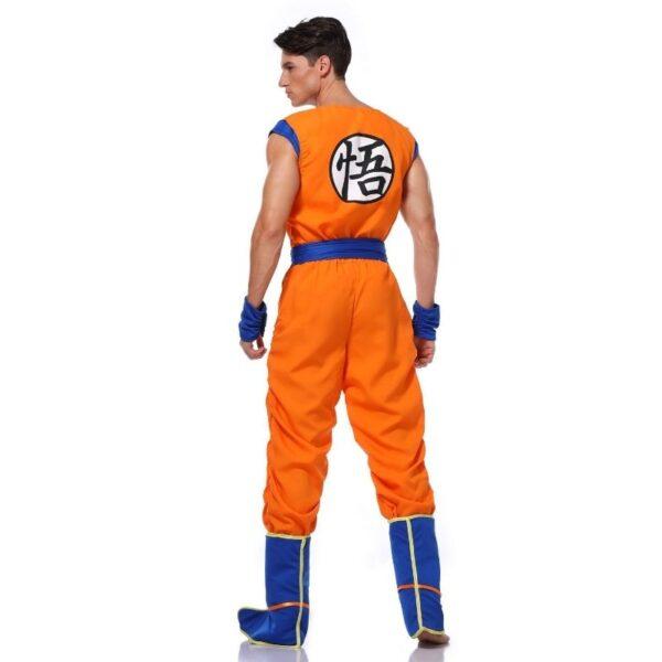 goku training uniform cosplay costume 5