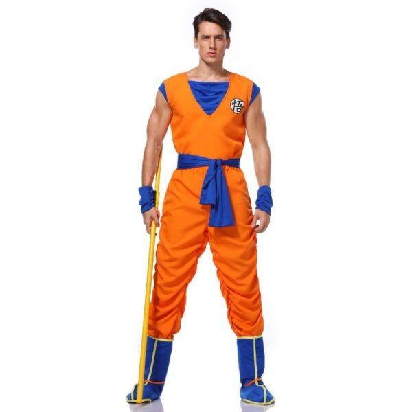 goku training uniform cosplay costume