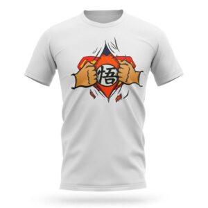 goku versus superman meme t shirt