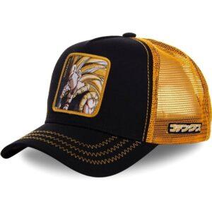 gotenks saiyan trucker hat cap