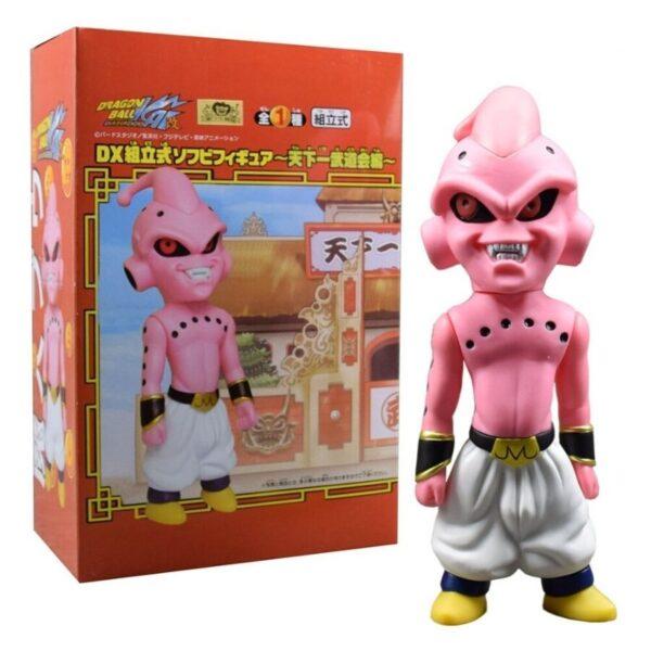 majin buu dx collectible action figure box