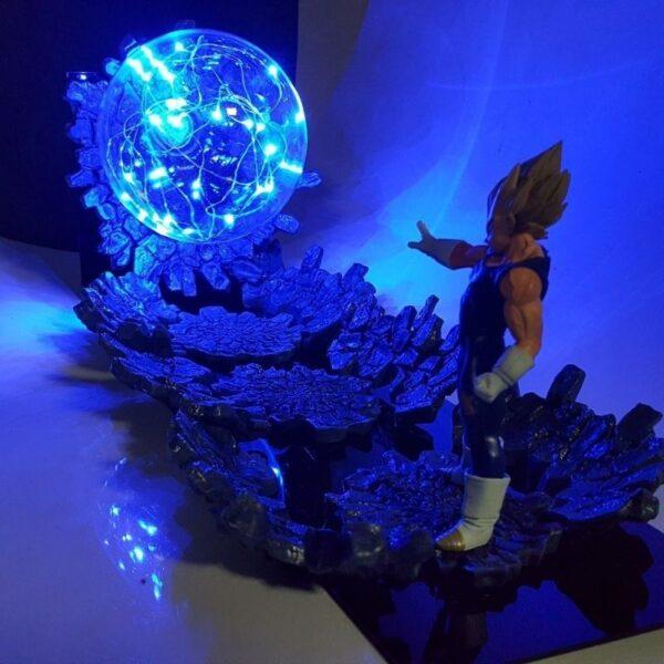 majin vegeta final impact diy 3d lamp 2