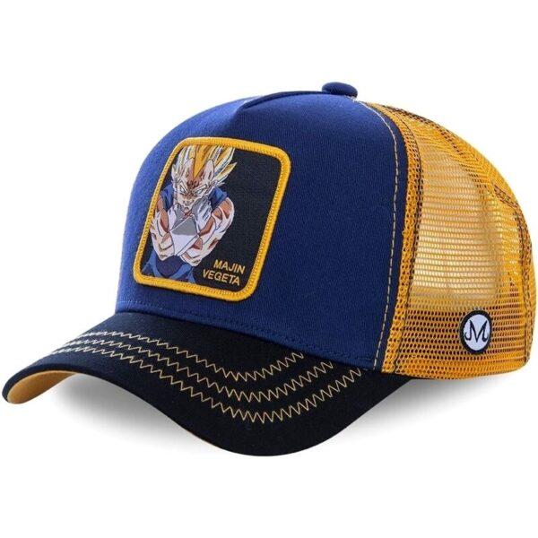 majin vegeta trucker hat cap