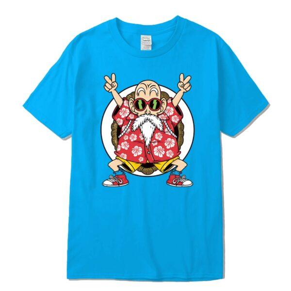 master roshi kame classic blue t shirt