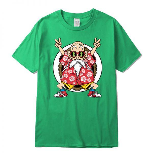 master roshi kame classic green t shirt