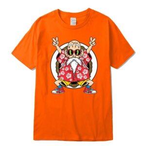 master roshi kame classic orange t shirt