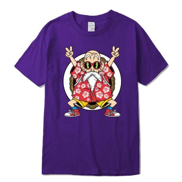 master roshi kame classic purple t shirt