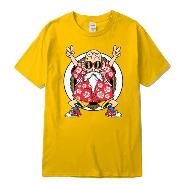 master roshi kame classic yellow t shirt
