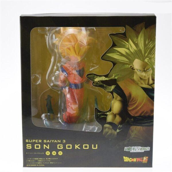 son goku super saiyan 3 ssj3 collectible figure box