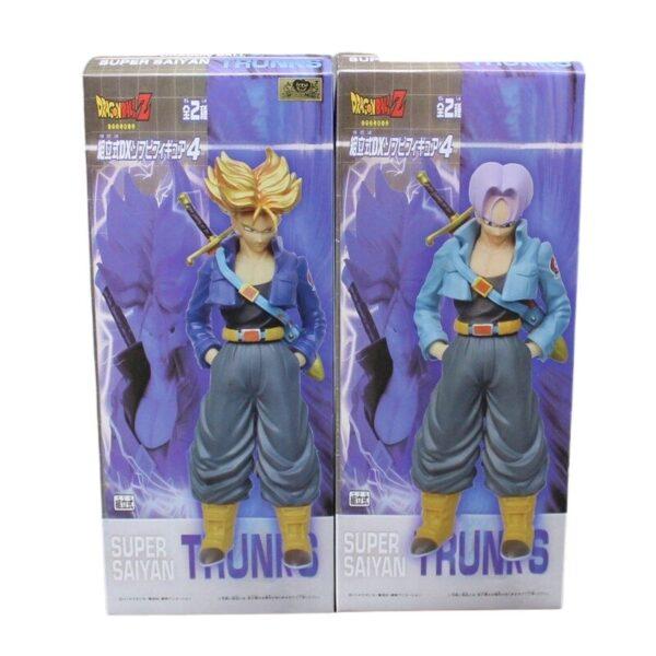 super saiyan trunks collectible action figure box